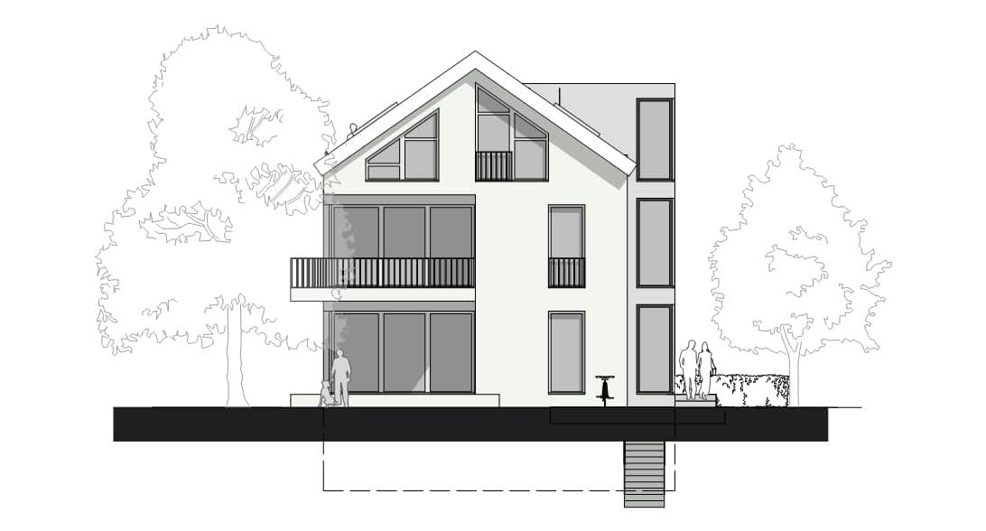 Wohnhaus-Froben-A-02-Ansicht-Süd-Ost